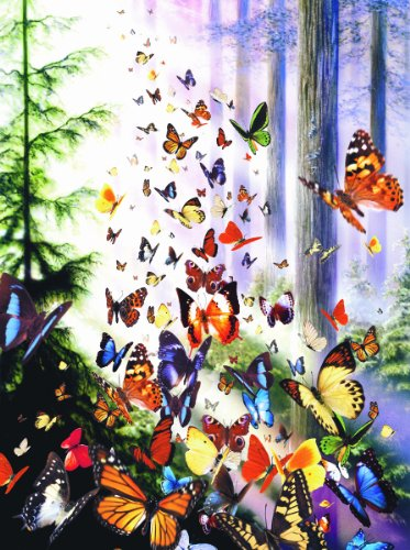 Butterfly Woods 3000pc Jigsaw Puzzle by David Penfound