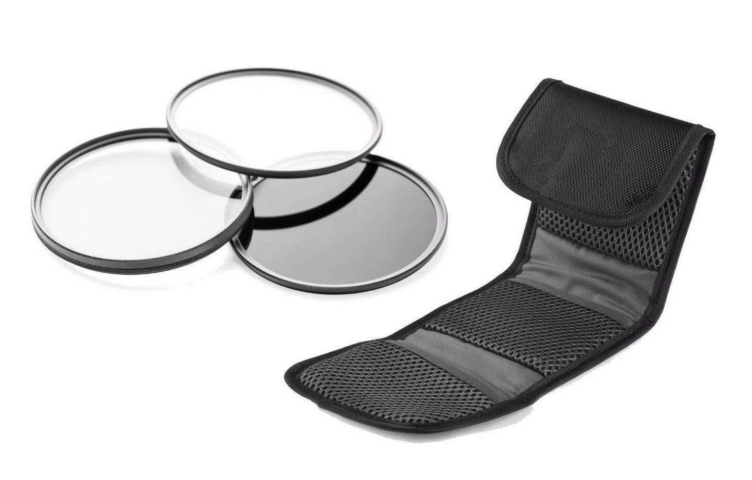 Canon PowerShot SX400 is High Grade Multi-Coated, Multi-Threaded, 3 Piece Lens Filter Kit (Includes Adapter Ring)
