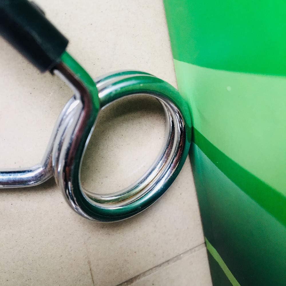 Ogquaton Barbell Collares de Clip de Resorte Clip de Mariposa Barbell Holder Accesorios para Equipos de Gimnasia para Gimnasio Levantamiento de Pesas Uso 25 mm