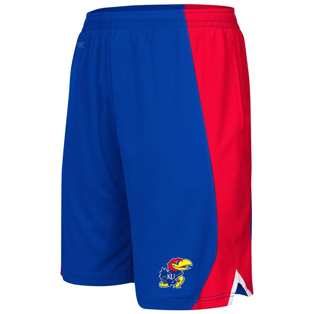 ユースNCAA Kansas Jayhawksバスケットボールショーツ(チームカラー) XL  B01N9TDKMS