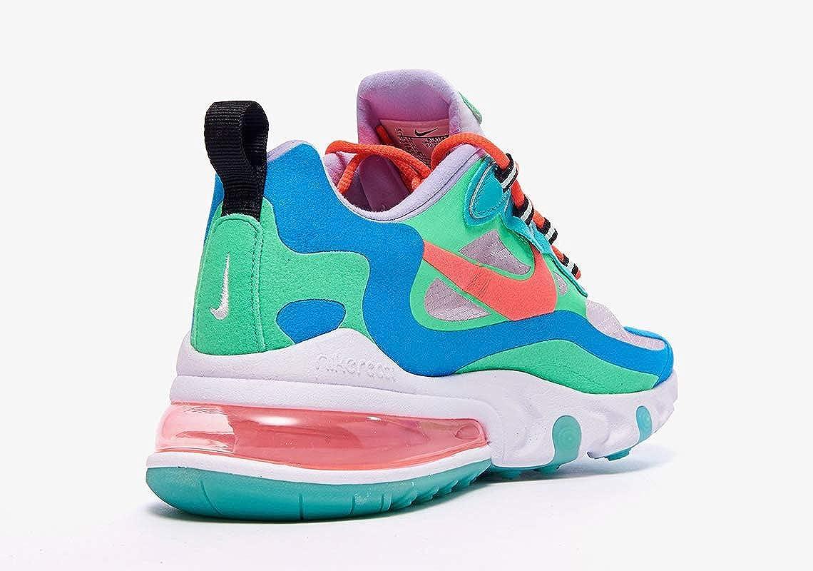 Nike Air Max 270 React Blue Lagoon   AT6174 300   The Sole Womens