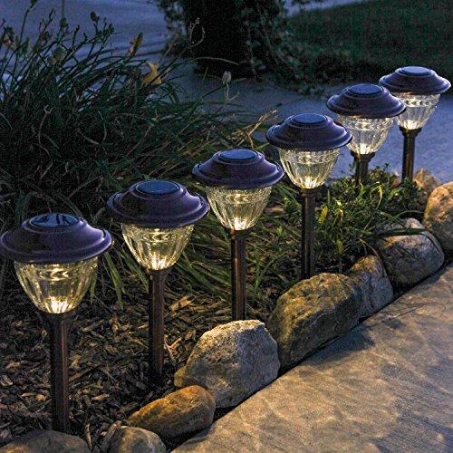 Brass Outdoor Solar Lights