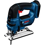 Bosch Professional 06015A6100 Cordless Jigsaw (Without Battery and Charger) - Carton
