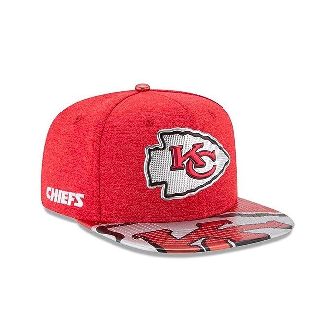 Amazon.com   New Era NFL Kansas City Chiefs 2017 Draft On Stage 9Fifty  Snapback Cap 9f95c6f70