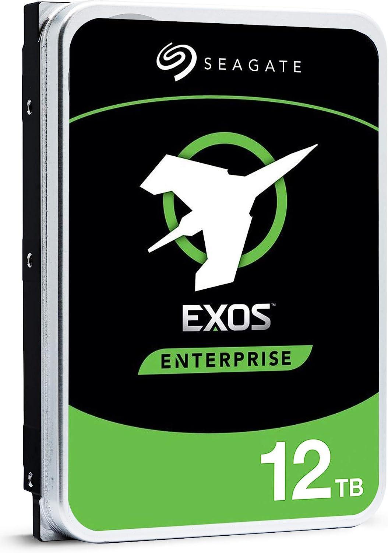 Seagate Exos X16 12TB 7200 RPM 512e//4Kn SATA 6Gb//s 256MB Cache 3.5-Inch Enterprise HDD ST12000NM001G