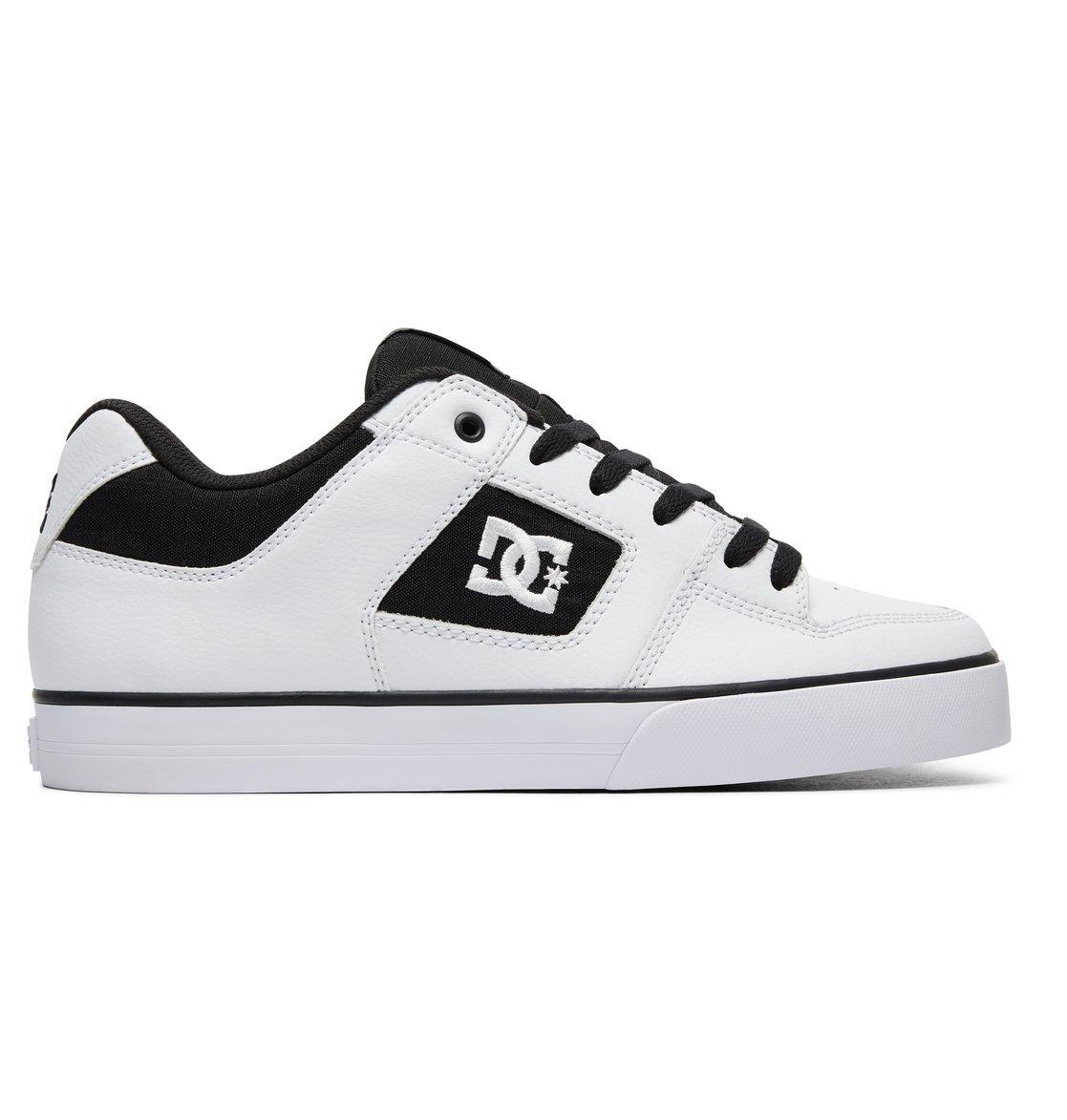 DC - Sneaker Pure 300660 - Black Athletic Red Bah 41 EU Blanco (Blanco/(Xwkw White/Black/White) Xwkw)
