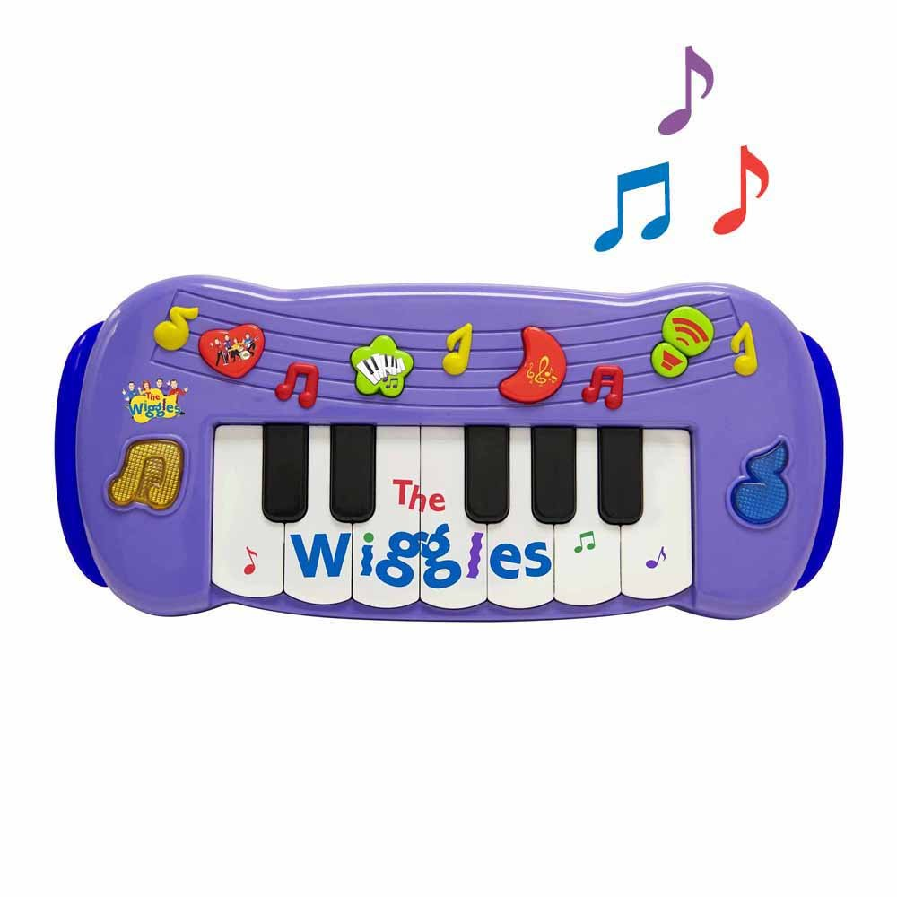 The Wiggles Play Along Musical Keyboard WICKED COOL TOYS