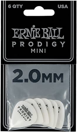 ERNIE BALL 9202 Prodigy Standard Pick Pack 2,00mm
