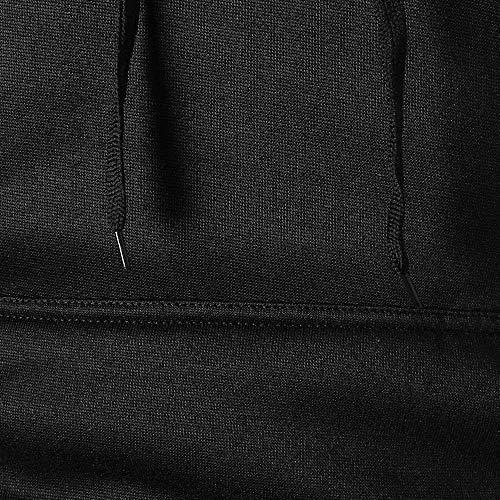 Maniche Casual Fit Maglietta Lunga Nero Cappuccio uomo Vicgrey Manica Pullover Da Uomo Tops Cotone Ragazzo Camicia Con Slim Lungo Felpa Maglieria SqxwxTtZv