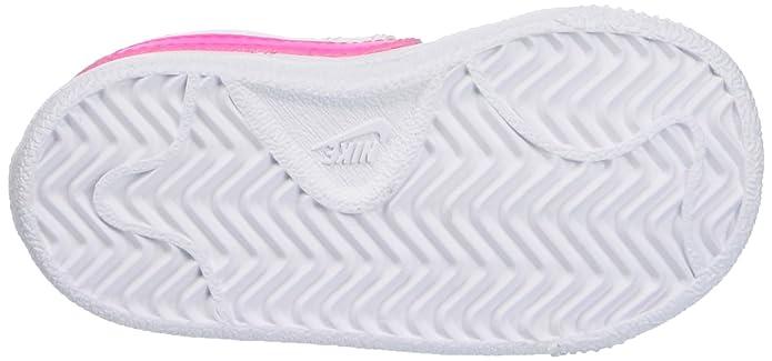 Nike 833656 106, Zapatos de Recién Nacido Bebé Unisex, Blanco (White/Pink Blast), 27 EU