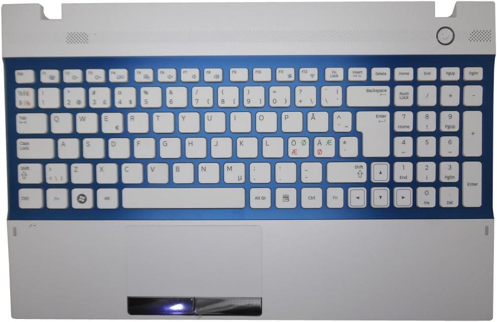 GAOCHENG Laptop PalmRest/&Keyboard for Samsung NP300V5A NP305V5A 300V5A 305V5A Nordic NE BA75-03251H Touchpad