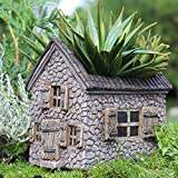 Miniature Fairy Garden Mill House Planter Review