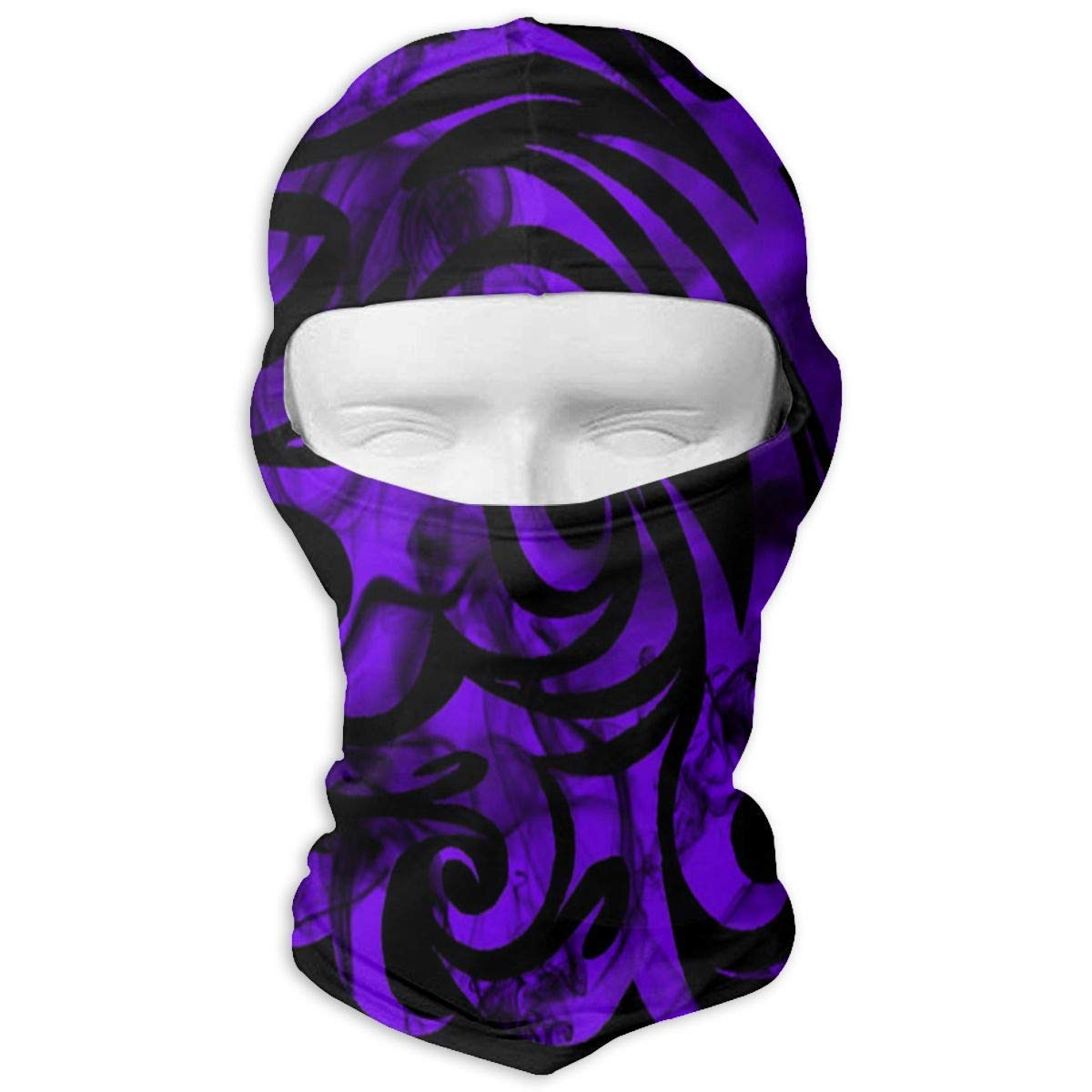 Balaclava Purple Flower Clipart Butterfly Full Face Masks Ski Motorcycle Neck Hood Bikofhd