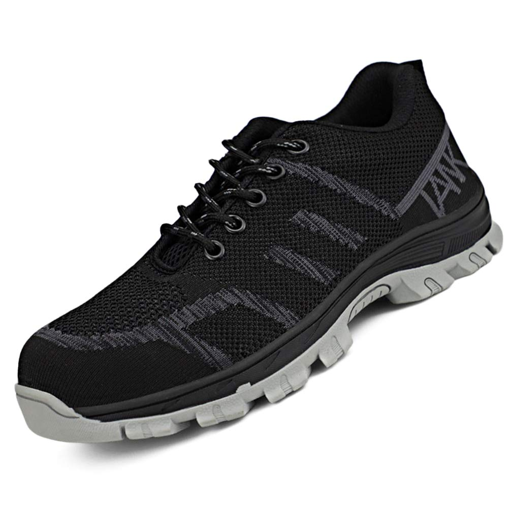 NEW Mens Womens Safety Work Trainers Breathable Steel Toe Cap Shoes Size/&