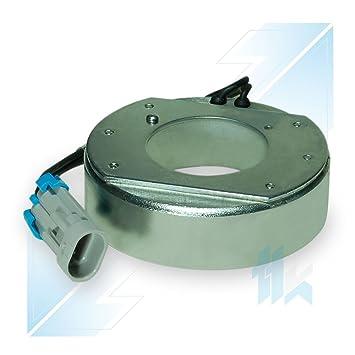 climática Compresor acoplamiento magnético Bobina apto para Opel Astra G, Astra H 1.7 Cdti, Corsa B Delphi CVC 12 V: Amazon.es: Coche y moto
