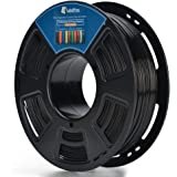 3D PLA 1.75MM BLACK Plastic 3D Printer Printing Filament, Dimensional Accuracy +/- 0.04 mm, 1KG 2.2LBS