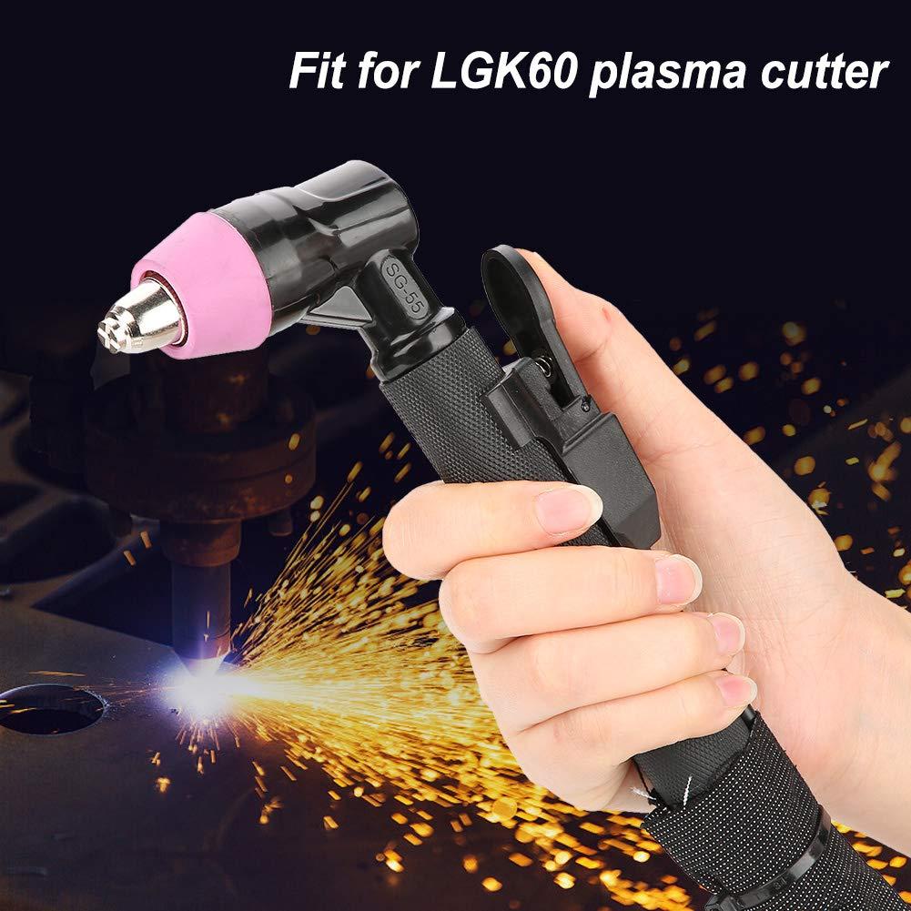 Akozon Plasmaschneidbrenner-Set AG60 sg55 Air Complete 4m 13.1ft f/ür LGK60-Plasmaschneider