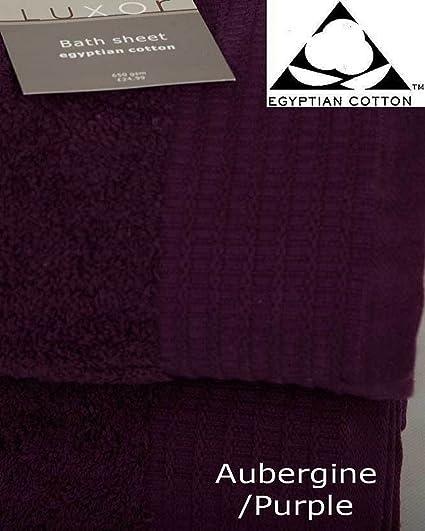 Toallas de baño de puro algodón egipcio 100 % de 650 g/m², para