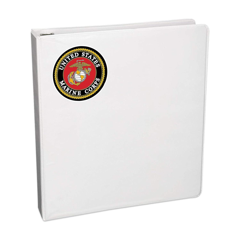 Sticker Bargain Max Decals MAX-100455 U.S Marine Corps Car Decal