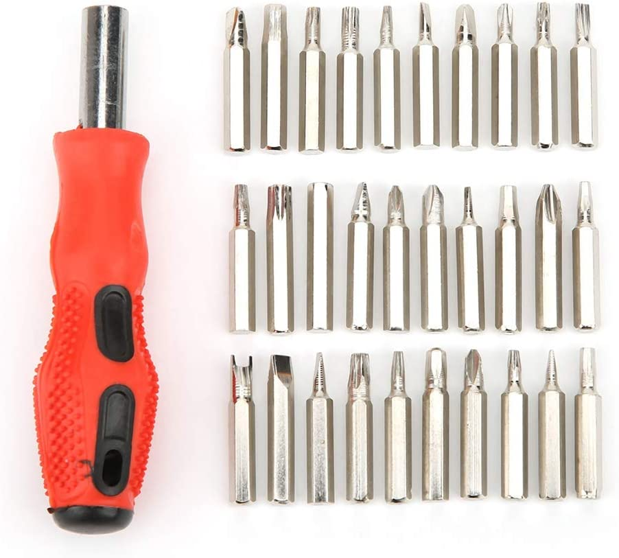 Screwdriver Set-a Multi-function Screwdriver Set with Various Drill Bits with Good Anti-slip Effect