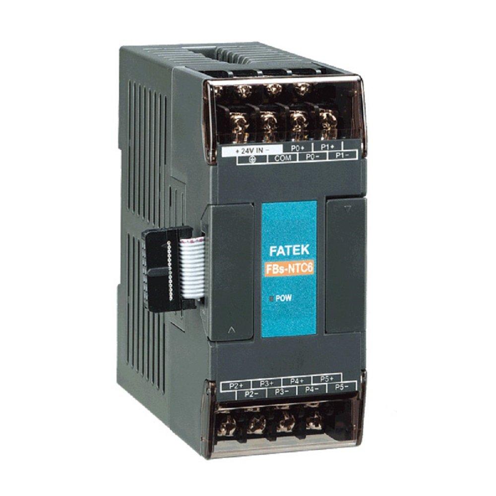 Fatek PLC Temperature Measurement Expansion Modules, FBs-6NTC (FBs-NTC6)