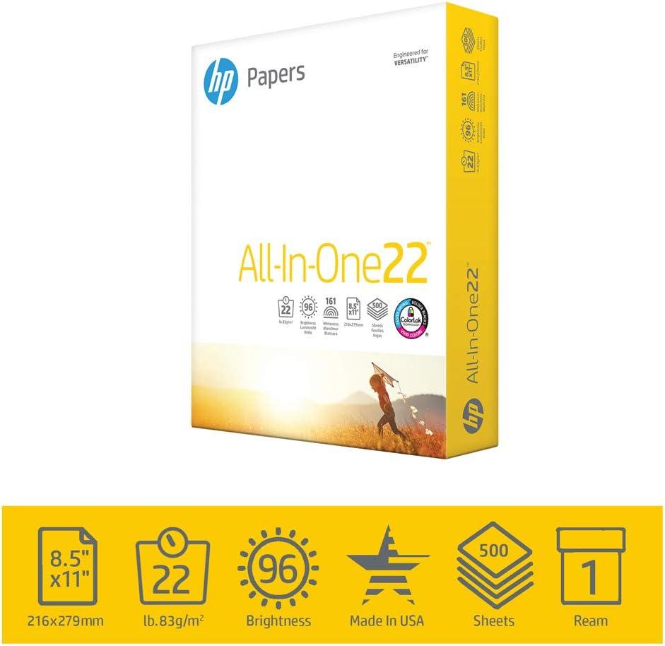 Amazon.com: Papel para impresora HP, Blanco: Home Improvement