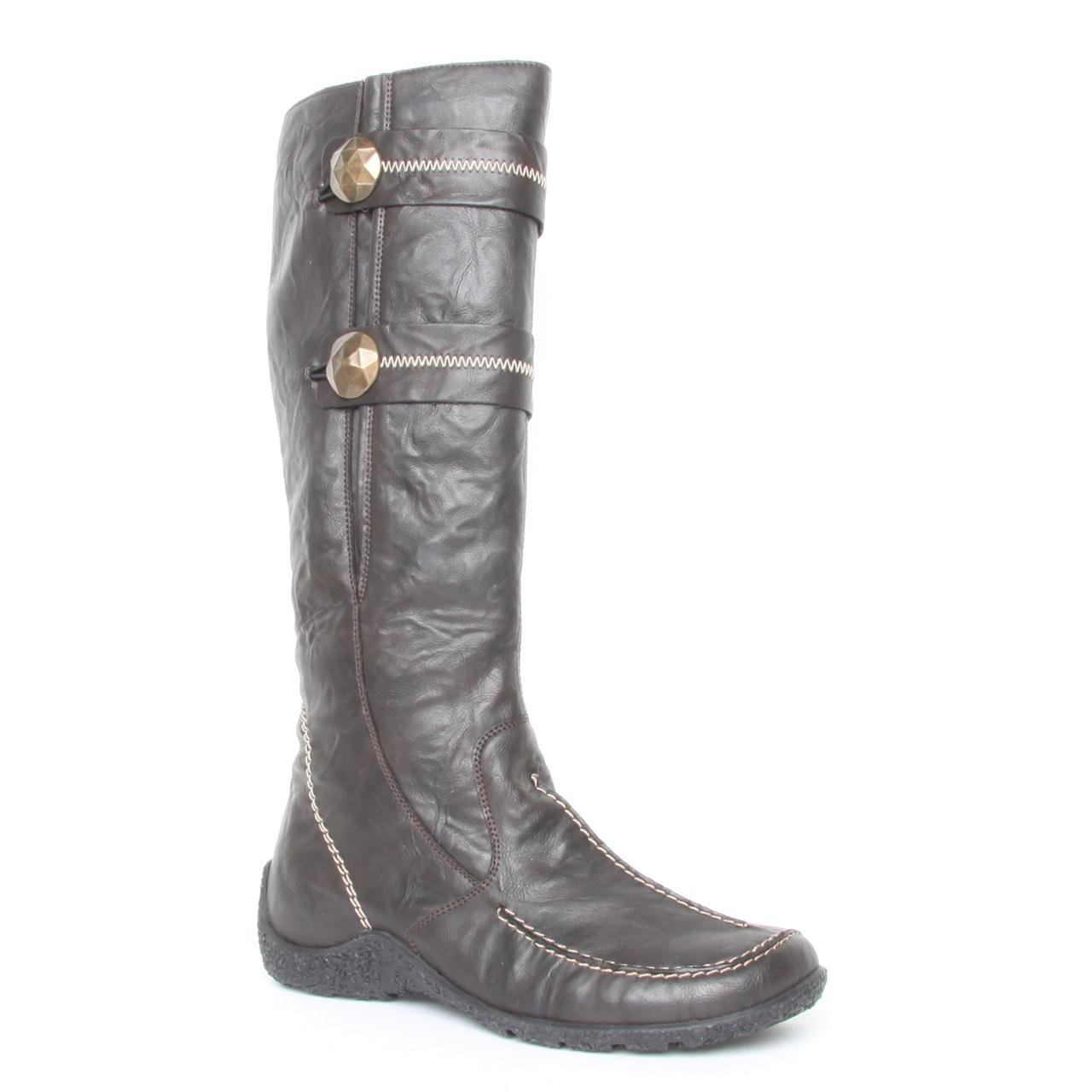 authentic quality sells great deals on fashion Ladies Rieker Astrid Brown Knee High Boots Size 6.5: Amazon ...
