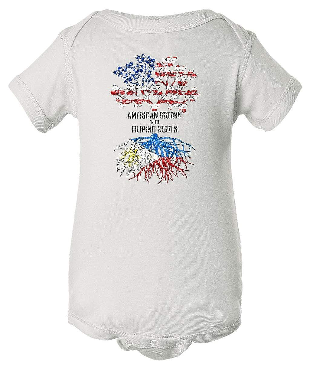 Tenacitee Babys American Grown with Filipino Roots Shirt