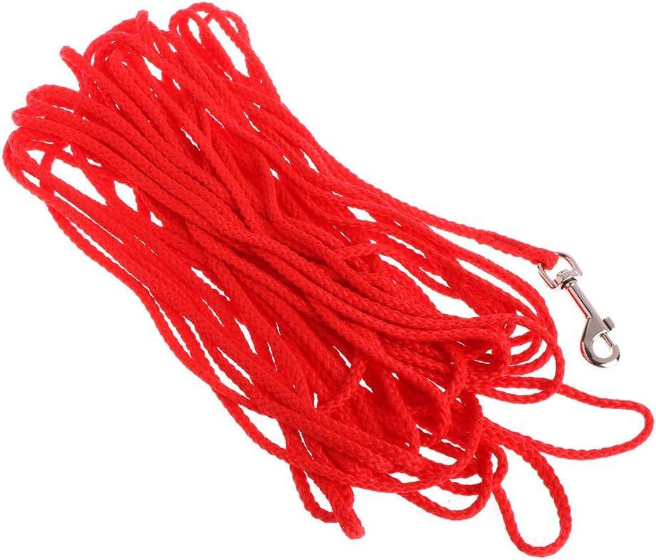 Misciu Pet Dog Leash Long Obedience Training Lead Recall Walking Rope Strap 5//10//15M Black 5M