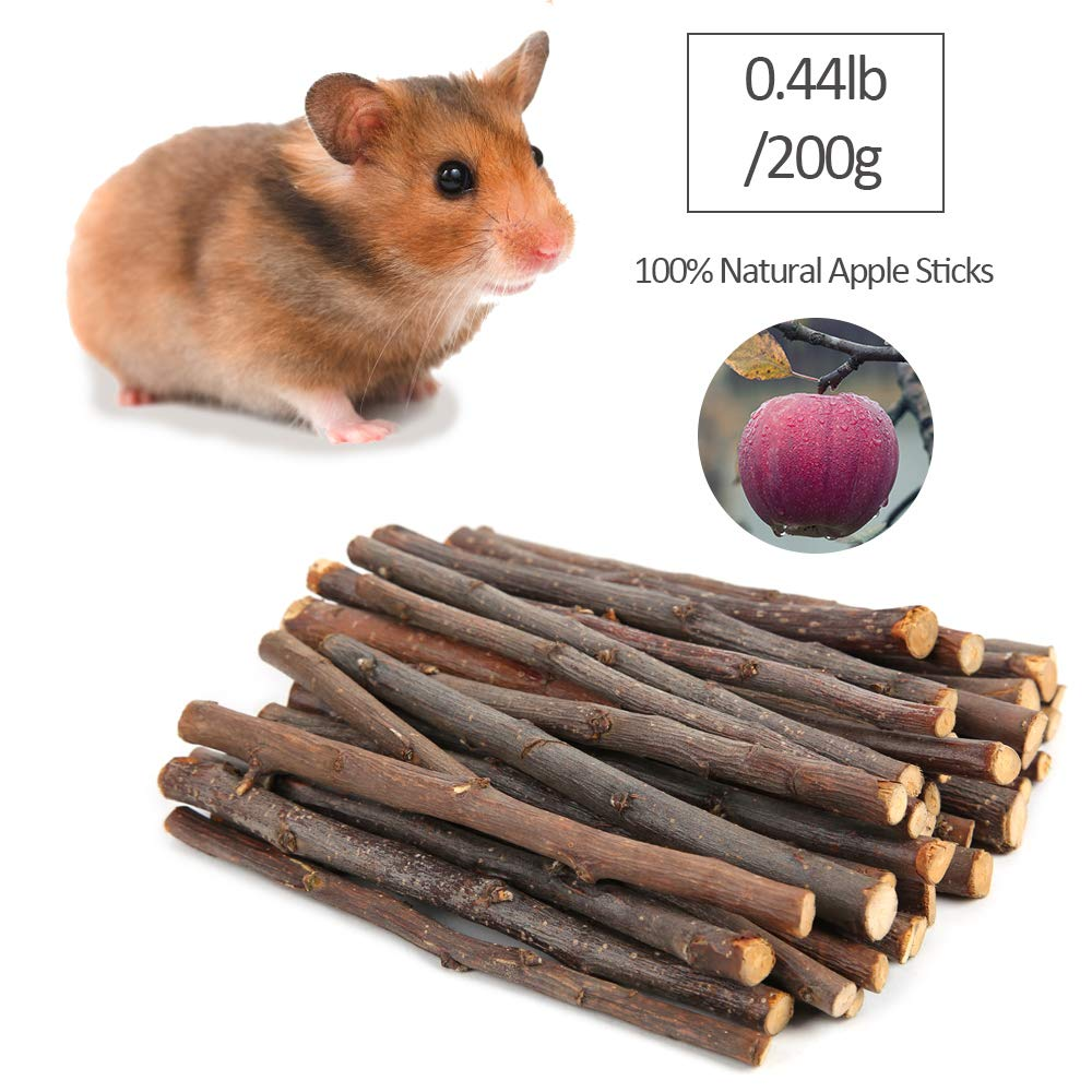 PetBemo Hamster Rat Chews Toys Guinea Pig Accessories Bunny Chew Toys for Bird Rabbits Hamster Gerbil (Pack of 8) by PetBemo (Image #3)