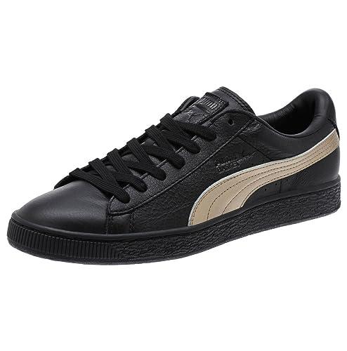 Puma Basket Classic Metallic SN Sneaker Damen Mädchen Schuhe 363201 01