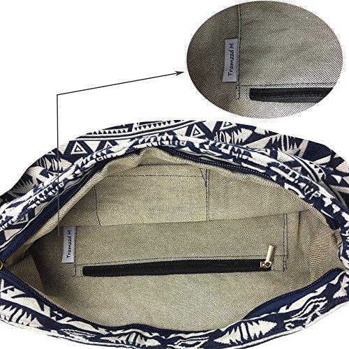 Casual Wallet Shoulder Travel Hobo Pattern 1 Ladies Large Messenger Purse CrossBody Tote Handbag Bag R6q8x1RwCr
