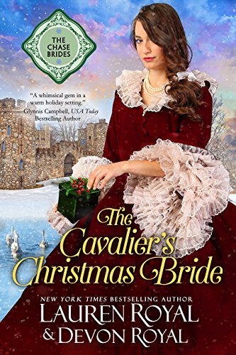 The Cavalier's Christmas Bride: A Sweet & Clean Historical Romance (The Chase Brides Book 8) cover