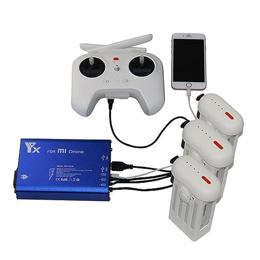 Ewendy - Cargador inteligente 5 en 1 para dron XIAOMI MI ...