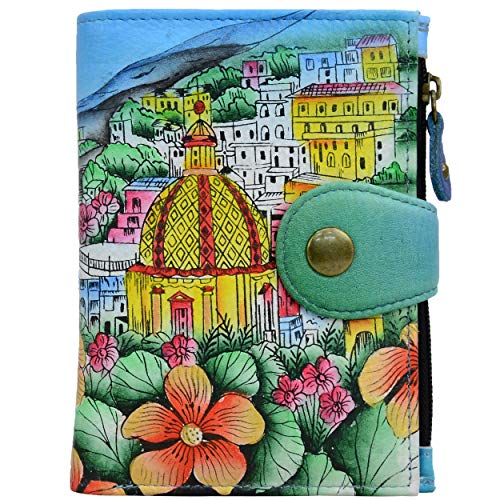 colorful leather wallets for women