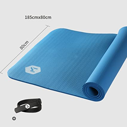 d43e6d57bf086 Amazon.com : Wangs Yoga mat Beginners 10mm Male and Female mats Anti ...