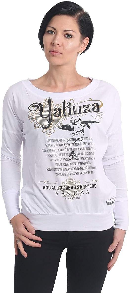 Yakuza Women Long-Sleeve T-Shirt Armed Angel Boyfriend