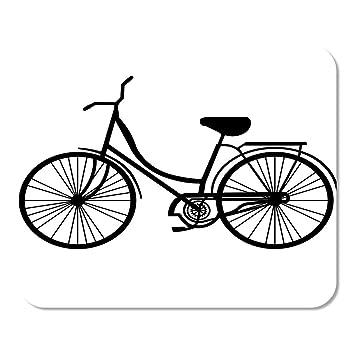 Mousepad Computadora Bloc de Notas Oficina Vintage Bicicleta Playa ...
