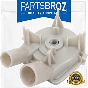 3363394 Washer Pump for Direct Drive Whirlpool Washers by PartsBroz - Replaces AP6008107, 3363394, 21024, 3348014, 3348015, 3348215, 3352492, 62516, 63347, 64076, 8235, PS11741239, WP3363394VP