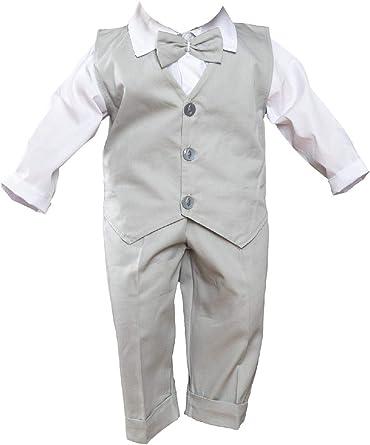62 68 74 80 Blau Taufanzug Festanzug Hochzeit Anzug Set 6 Teilig  Gr