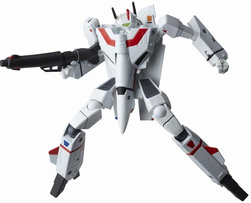 Macross Robotech Revoltech 084 Super Poseable Action Figure VF1J Valkyrie Do You Remember Love Version (japan import)