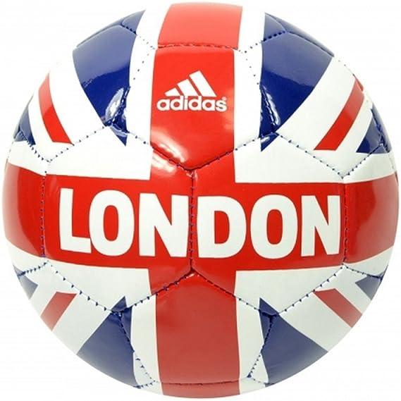 Adidas - Mini balón de fútbol Londres con la bandera Union Jack ...