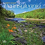 Pennsylvania Wild & Scenic 2020 7 x 7 Inch Monthly Mini Wall Calendar, USA United States of America Northeast State Nature