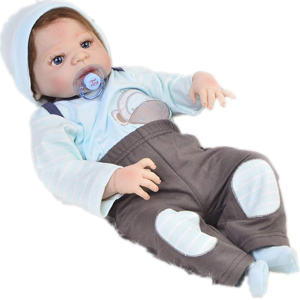 MCCW Genießen Sie einen kostenlosen Schnuller und EIN Krankenhausarmband, mit dem Sie So Truly Real® lebensechte, realistische Neugeborene-Baby-Puppe 57 cm Personalisieren können
