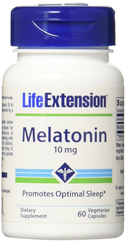 Amazon.com: Life Extension Melatonin Supplement Capsules, 60 Count: Health & Personal Care