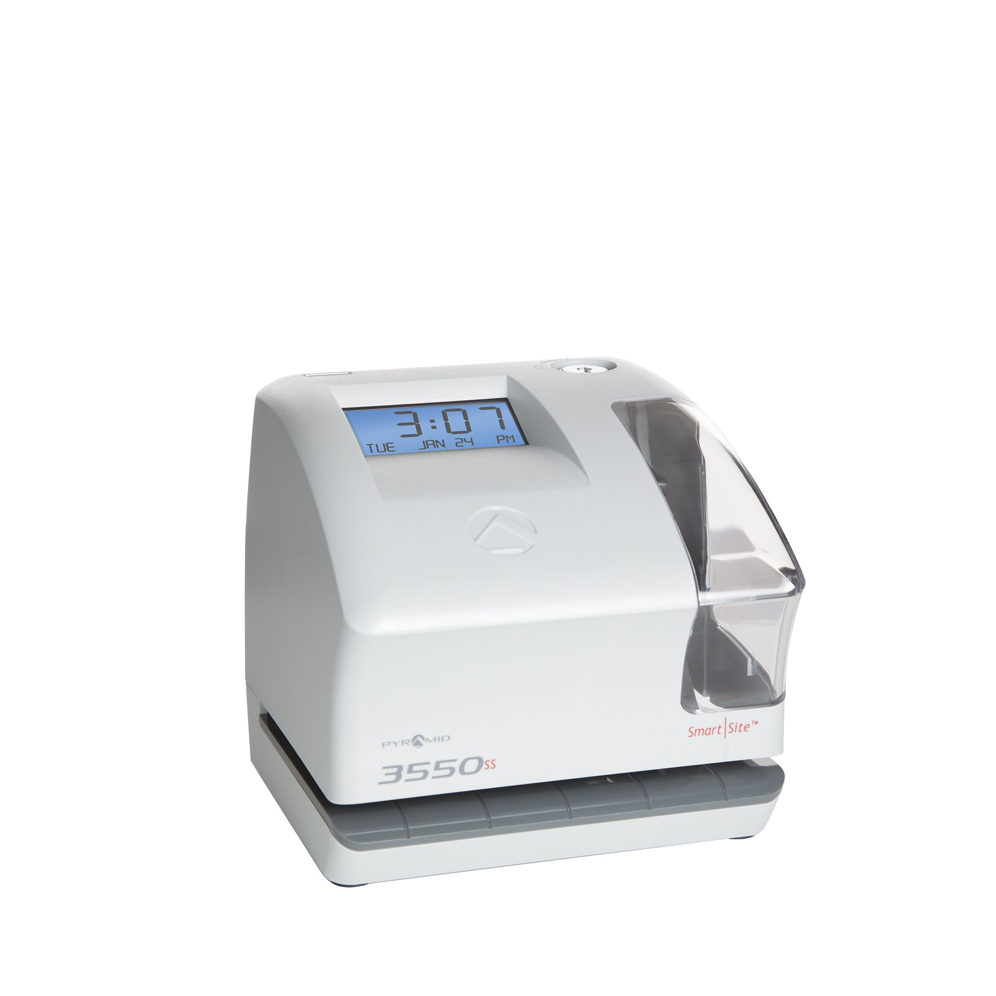 Pyramid 3550ss SmartSite Time Clock and Document Stamp - Made in USA by Pyramid Time Systems (Image #11)