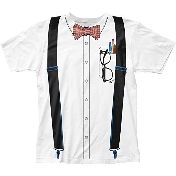 Nerd Costume Tee (slim fit) T-Shirt Size XXL