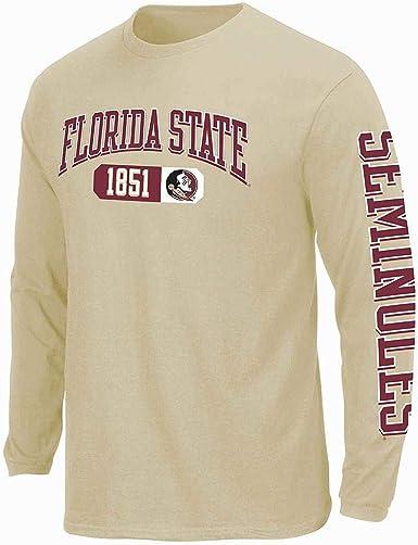 XX-Large Top of the World Florida State Seminoles Mens Team Color Crewneck Sweatshirt