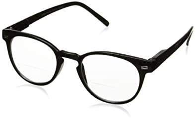a0c4d977686 Amazon.com  Peepers Men s Kennedy Bifocal 2292125 Round Reading ...