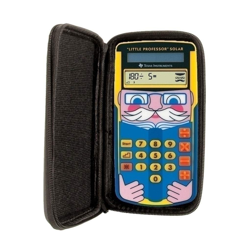 SafeCase Sacoche de protection pour calculatrice et calculatrice graphique Texas Instruments TI Little Professor
